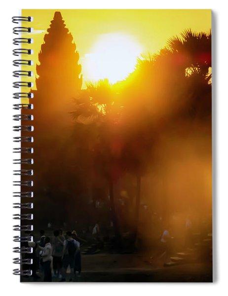 Angkor Wat Sunrise - Siem Reap, Cambodia Spiral Notebook
