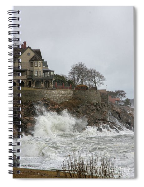Angry Splash Spiral Notebook