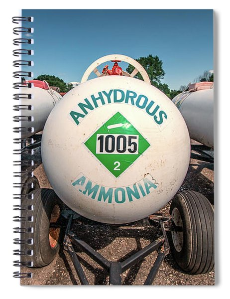 Anhydrous Ammonia Spiral Notebook