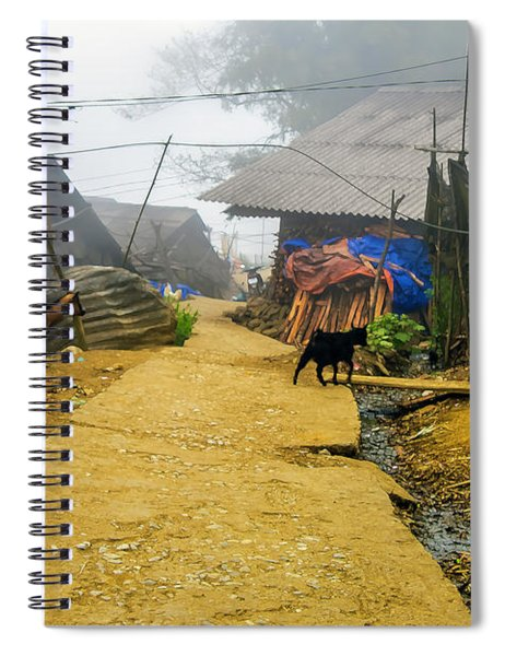Animal Farm In Sapa, Vietnam Spiral Notebook