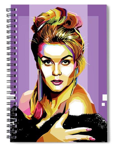 Ann-margret Spiral Notebook