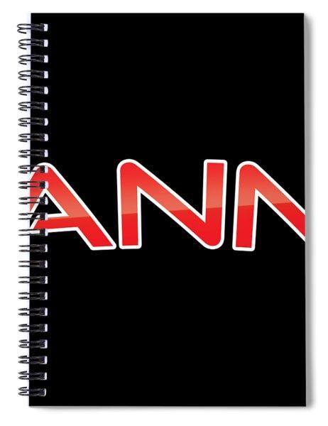 Ann Spiral Notebook