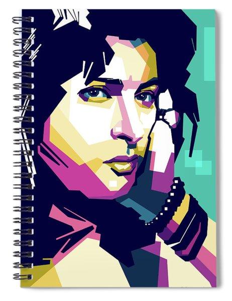 Anna Magnani Spiral Notebook