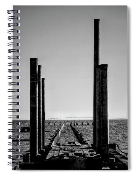 Anna Maria City Pier Rebuild 2019 Spiral Notebook