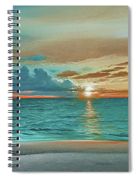 Anna Maria Island Beach Spiral Notebook