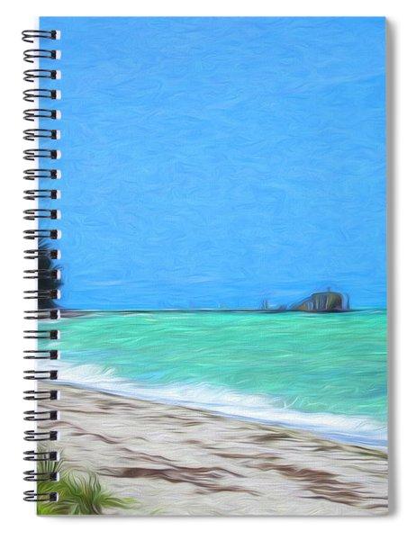 Anna Maria North Shore Spiral Notebook