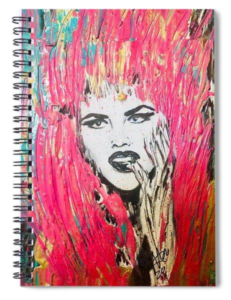 Anna Nicole Spiral Notebook