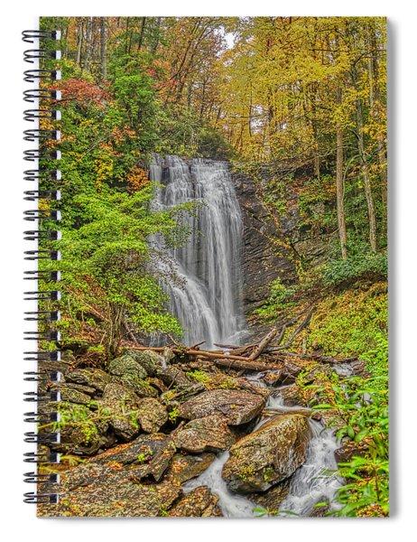 Anna Ruby Falls Left Spiral Notebook