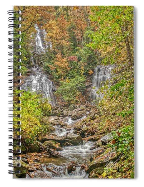 Anna Ruby Falls Vertical Spiral Notebook
