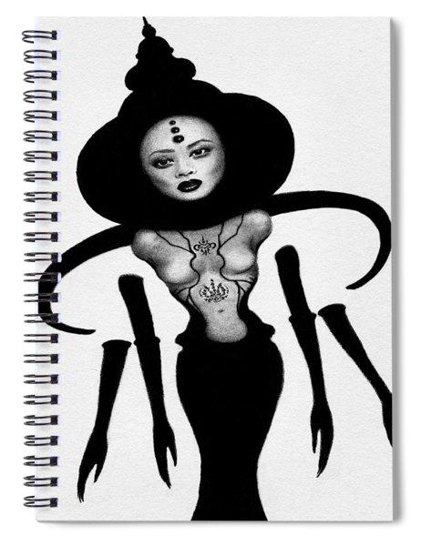 Anomaly 2 - Queen - Artwork Spiral Notebook