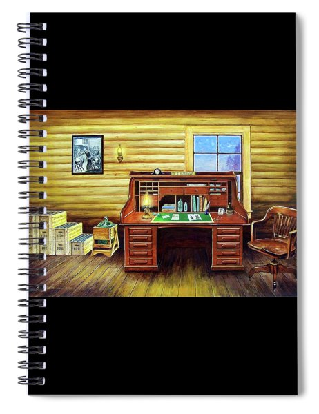 Another Day In The Books Spiral Notebook