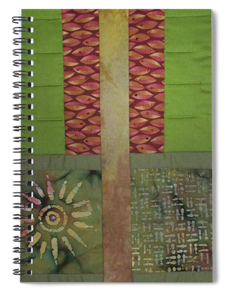 Another Fragment Of The Frontier Of Beauty Spiral Notebook