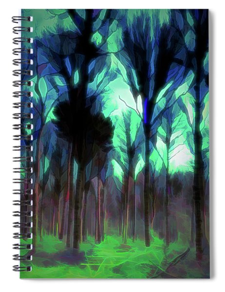 Another World - Forest Spiral Notebook