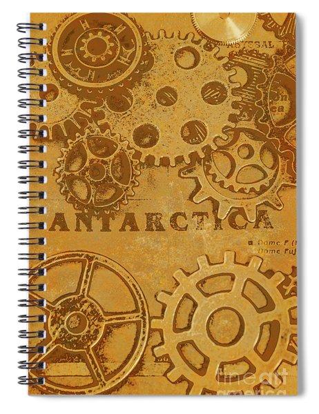Antarctech Spiral Notebook