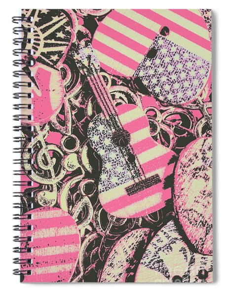Anthems Of America Spiral Notebook