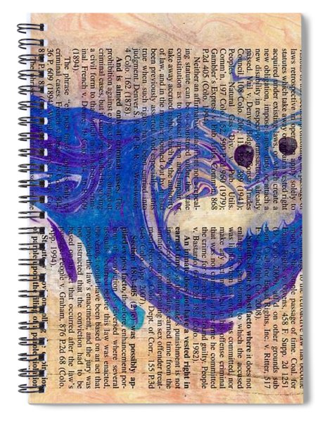 Anticipation  Spiral Notebook