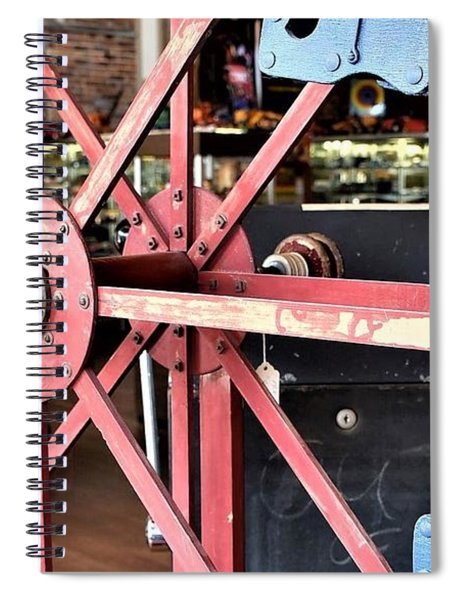 Antique Toy Ferris Wheel Spiral Notebook