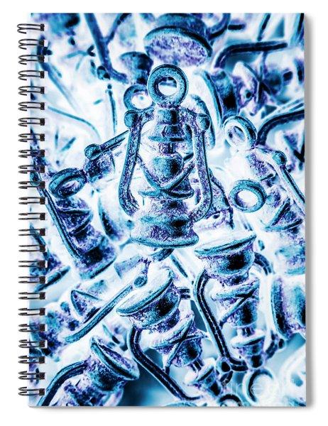Antiquity Blue Spiral Notebook