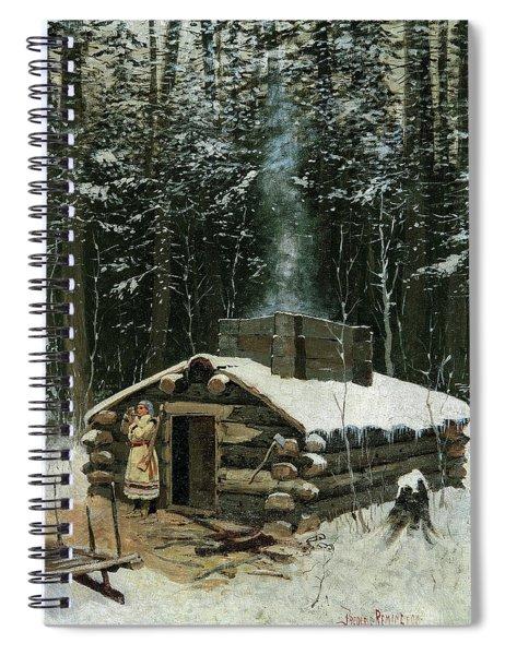 Antoine's Cabin, 1890 Spiral Notebook
