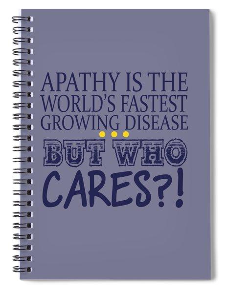 Apathy Spiral Notebook