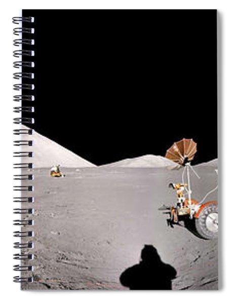 Apollo 17 Taurus-littrow Valley The Moon Spiral Notebook