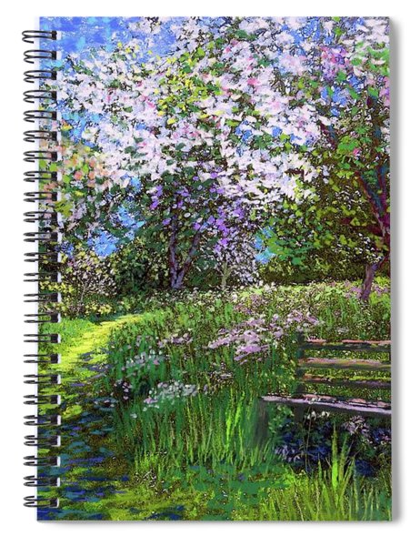 Apple Blossom Trees Spiral Notebook