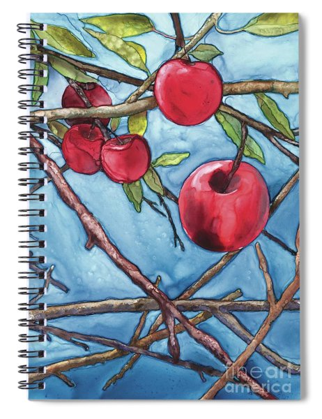 Apple Harvest Spiral Notebook
