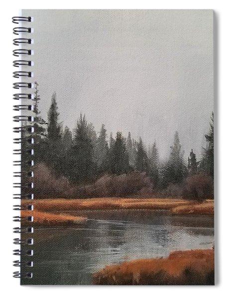 Approaching Flurries Spiral Notebook