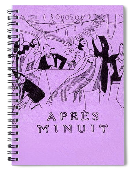 Apres Minuit Spiral Notebook