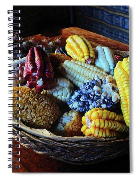 At The Aqha Wasi Inka Bar Spiral Notebook by Rick Locke