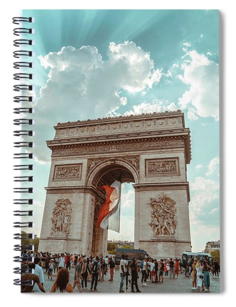 Arc De Triomphe - World Cup 2018 Spiral Notebook
