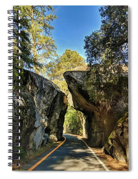 Arch Rock Entrance Spiral Notebook