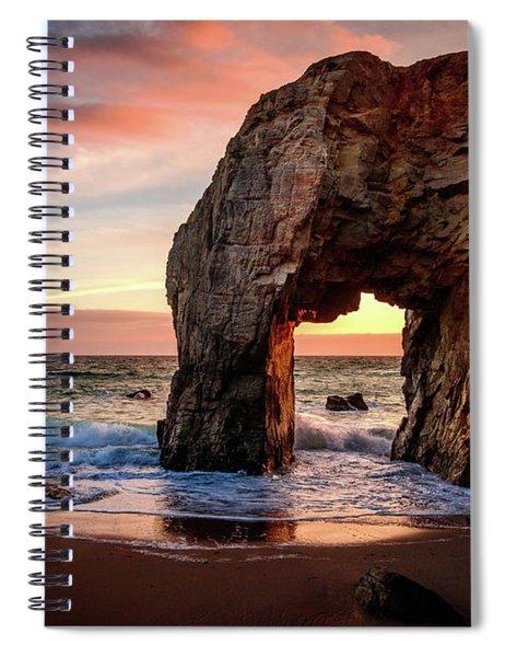 Arche De Port Blanc Spiral Notebook
