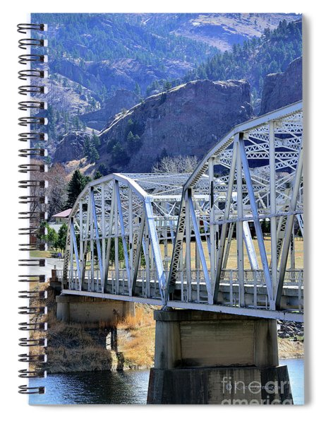 Arched Bridge And Hills Spiral Notebook