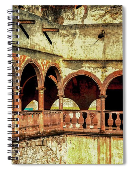 Arches And Texture  Spiral Notebook