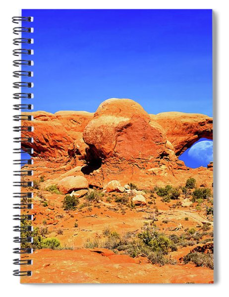 Arches Moon Eye Spiral Notebook