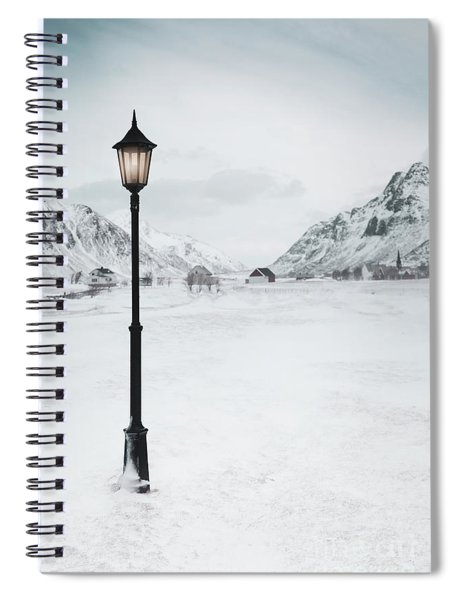 Arctic Echoes Spiral Notebook