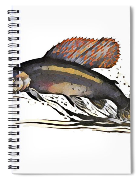 Arctic Grayling Spiral Notebook