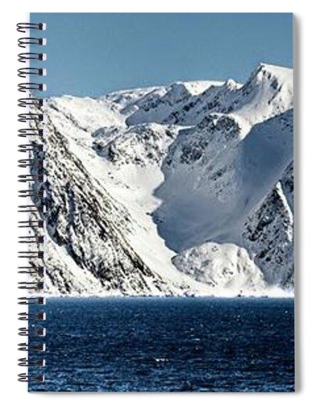 Arctic Panorama Spiral Notebook