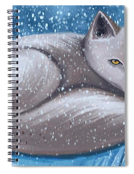 Arctic Survivor  Spiral Notebook