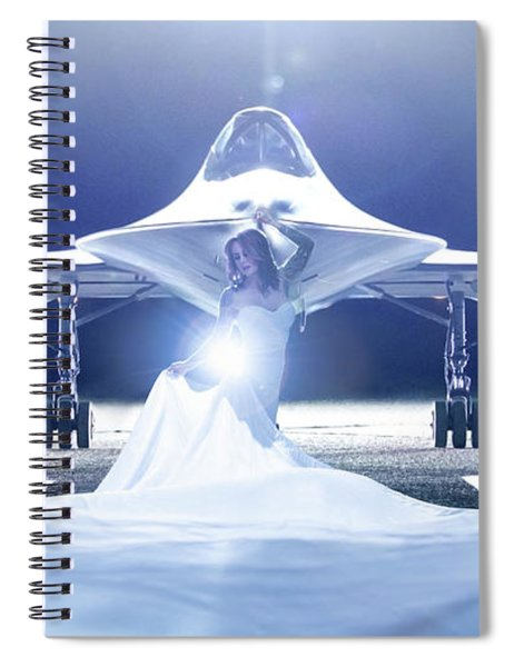 Area 71 A Nge Lien Spiral Notebook