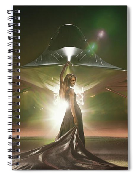 Area 71 Revelation Spiral Notebook
