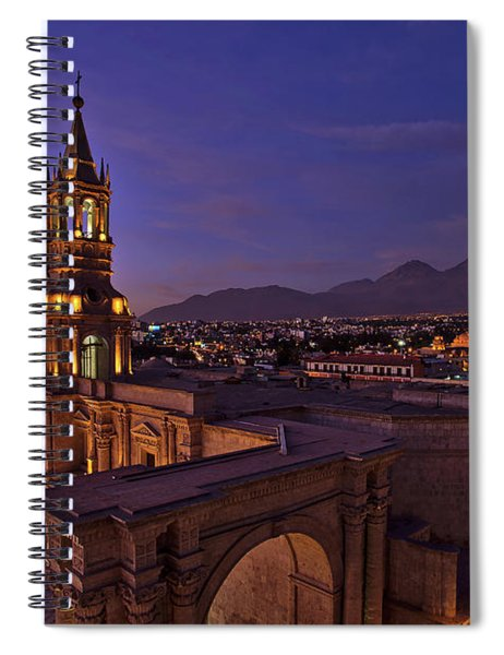 Arequipa Is Peru Best Kept Travel Secret Spiral Notebook