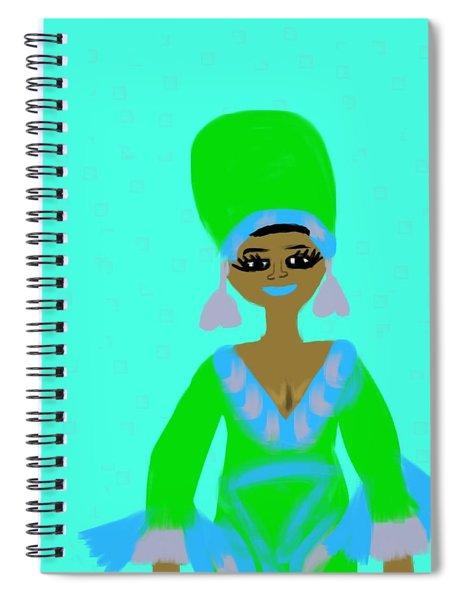 Aretha Spiral Notebook