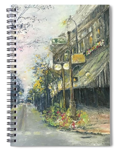 Argenta This Is Not Alices Restaurant Spiral Notebook