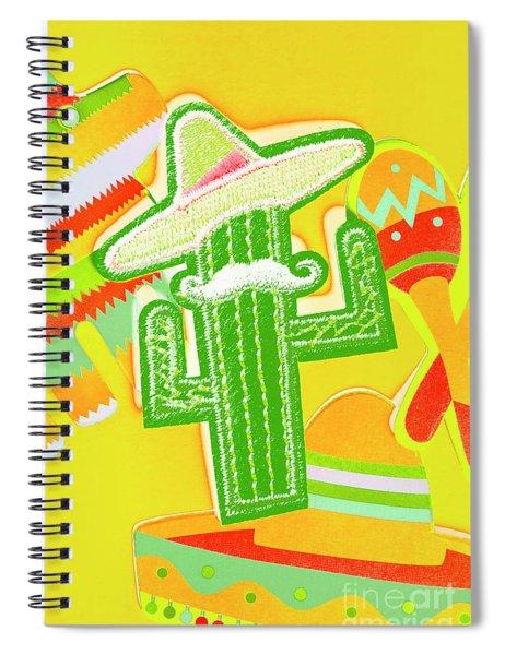 Arid Amigo  Spiral Notebook
