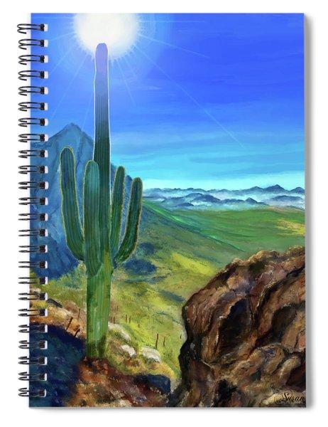 Arizona Heat Spiral Notebook