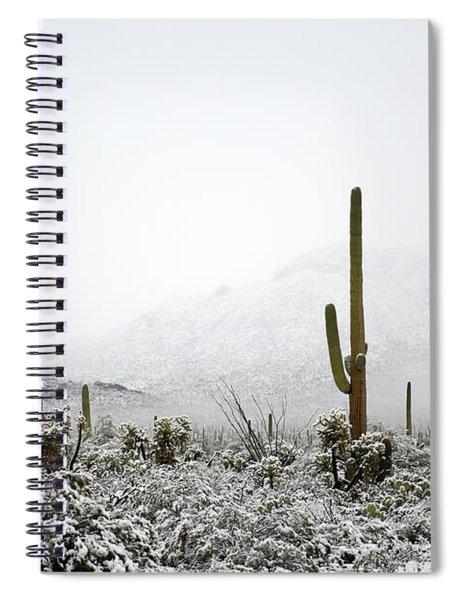 Arizona Snow Spiral Notebook