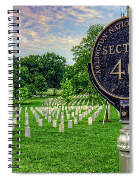 Arlington National Cemtery Spiral Notebook