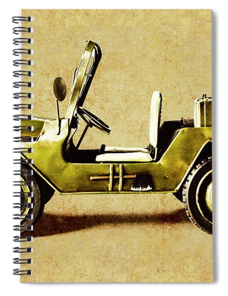 Army Jeep Spiral Notebook